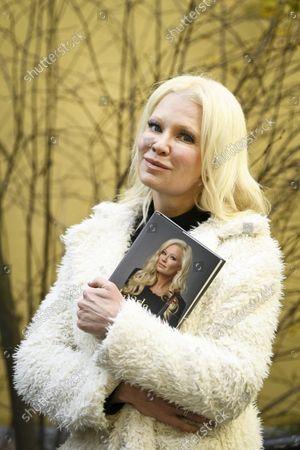 Violinist Linda Lampenius in Helsinki, Finland, on October 21, 2021.