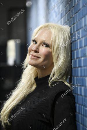 Editorial photo of Violinist Linda Lampenius, Helsinki, Finland - 21 Oct 2021
