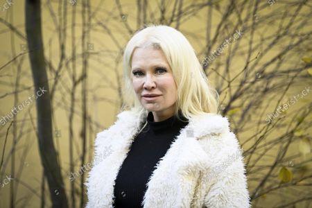 Editorial picture of Violinist Linda Lampenius, Helsinki, Finland - 21 Oct 2021