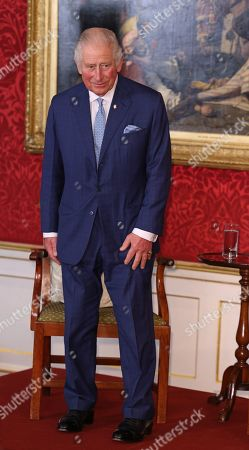 Prince Charles during the Prince's Trust Awards Trophy Ceremony at St James Palace on October 21, 2021 in London, England. The Prince's Trust Awards recognize young people who have succeeded against the odds, improved their chances in life and had a positive impact on their local community.