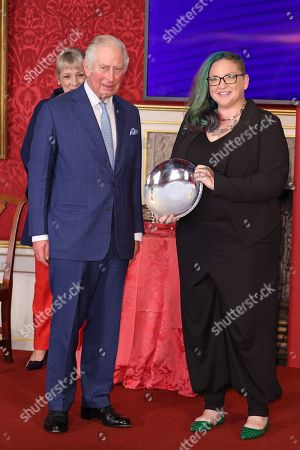 Editorial photo of The Prince's Trust Awards Trophy Ceremony, London, UK - 21 Oct 2021