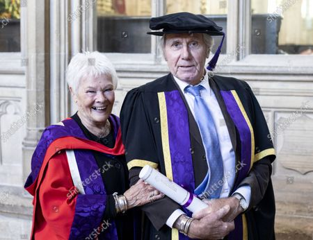 Editorial photo of Degree Ceremony at the University of Winchester, UK - 21 Oct 2021
