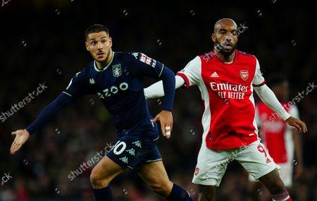 Editorial picture of Arsenal v Aston Villa, Premier League, Football, Emirates Stadium, London, UK - 22 Oct 2021