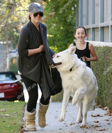Noah Cyrus with her dog Sophie