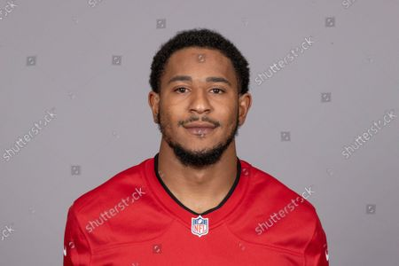 This is a 2021 photo of Andrew Adams of the Tampa Bay Buccaneers NFL football team. This image reflects the Tampa Bay Buccaneers active roster as of when this image was taken