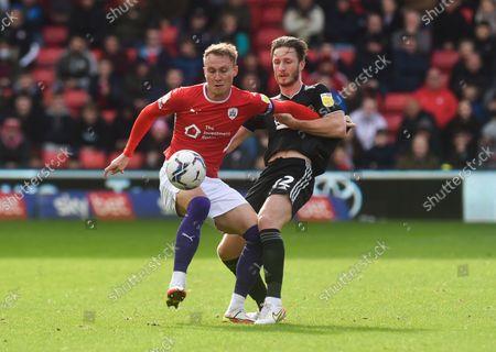 Editorial picture of Barnsley v Sheffield United, EFL Sky Bet Championship, Football, Oakwell, Barnsley, UK - 24 Oct 2021