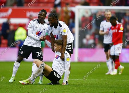 Editorial photo of Nottingham Forest v Fulham, EFL Sky Bet Championship, Football, The City Ground, Nottingham, UK - 24 Oct 2021