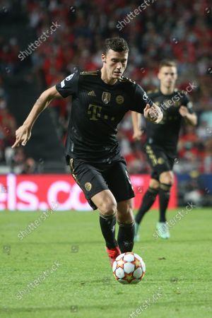 Stock Image of Benjamin Pavard of Bayern Munich