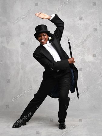 Former boxer Nicola Adams previews her appearance on Strictly Come Dancing in a Fred Astaire themed photoshoot