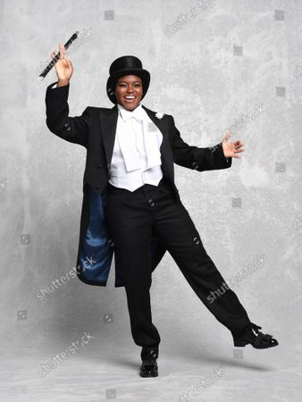 Editorial image of Nicola Adams Fred Astaire themed photoshoot, London, UK - 29 Sep 2020