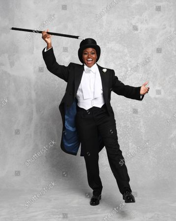 Editorial photo of Nicola Adams Fred Astaire themed photoshoot, London, UK - 29 Sep 2020