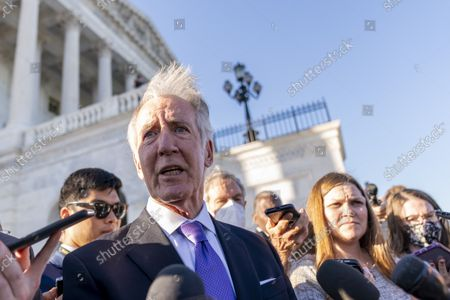 Rep. Richard Neal, D-Mass., speaks to reporters after the House voted to hold Steve Bannon, a longtime ally and aide to former President Donald Trump, in contempt of Congress after he defied a subpoena from the committee investigating the Jan. 6 Capitol insurrection, at the Capitol in Washington