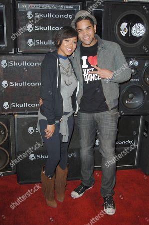 Meagan Good and cousin Dijon Talton