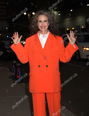 Stock Picture of Andie MacDowell