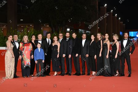 Editorial picture of 'There's No Place Like Home' premiere, Rome Film Festival, Italy - 21 Oct 2021