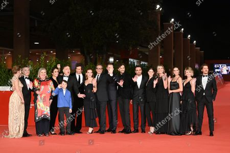Editorial image of 'There's No Place Like Home' premiere, Rome Film Festival, Italy - 21 Oct 2021