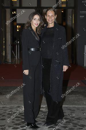 Annamaria Malipiero with her daughter Ginevra Nuti