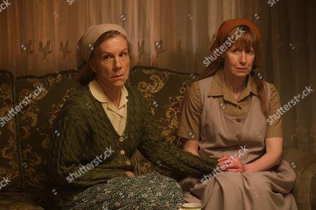 Nia Gwynne as Ruth and Juliet Stevenson as Dorothy Venn.
