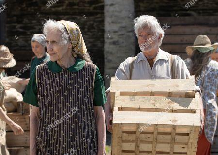 Martin Shaw as Dennis Stephenson and Anita Dobson as Grace Stephenson.