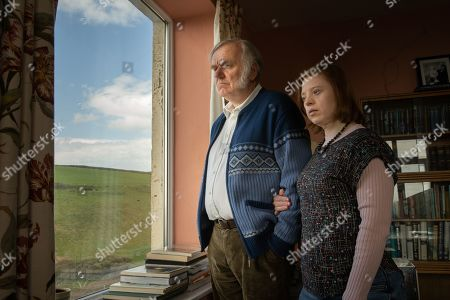 Stock Photo of Alan Williams as Maurice Craddle and Sarah Gordy MBE as Lucy Craddle.