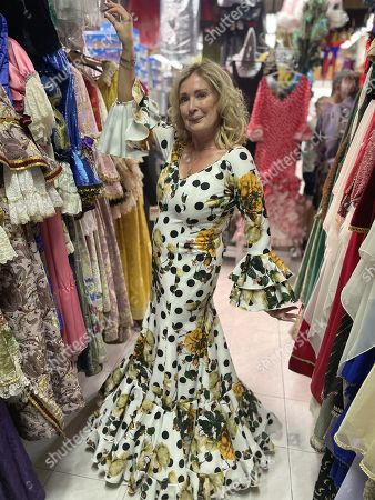 Ep2 - Wednesday 27th October 2021  Pictured: Beverley Callard tries flamenco dress in Madrid.
