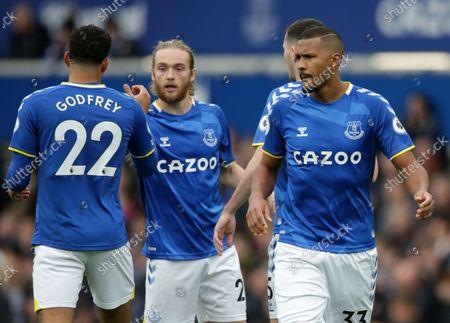Editorial image of Everton v Watford, Premier League, Football, Goodison Park, Liverpool, UK - 23 Oct 2021