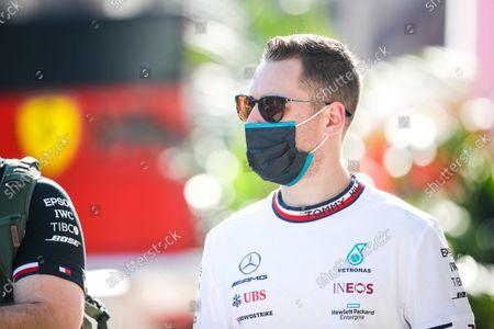 VANDOORNE Stoffel (bel), Reserve Driver of Mercedes AMG F1 GP, portrait