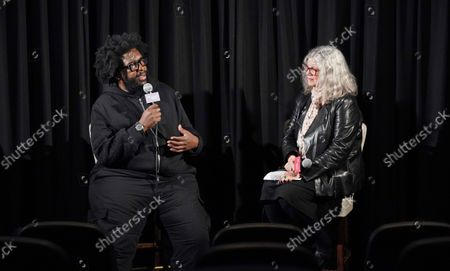 Director Questlove and Anne Thompson