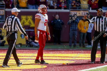Editorial photo of Nebraska Minnesota Football, Minneapolis, United States - 16 Oct 2021