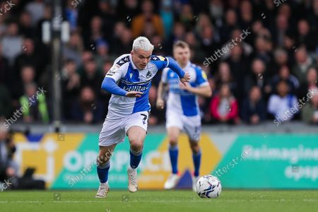 Luke Thomas of Bristol Rovers- Mandatory by-line: Will Cooper/JMP