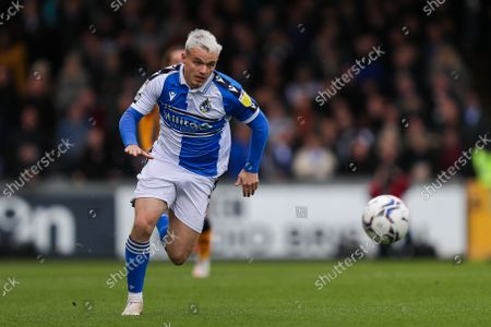 Editorial image of Bristol Rovers v Newport County AFC, UK - 23 Oct 2021