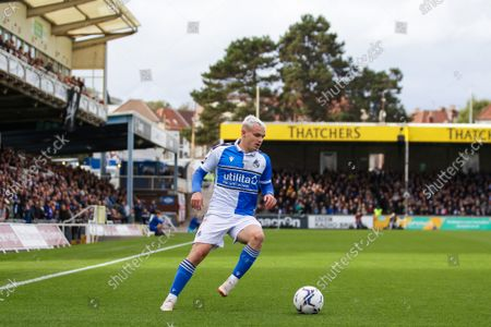 Editorial photo of Bristol Rovers v Newport County AFC, UK - 23 Oct 2021