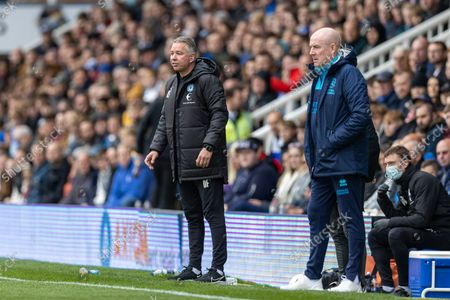 Stock Image of Peterborough United Manager Darren Ferguson during the EFL Sky Bet Championship match between Peterborough United and Queens Park Rangers at London Road, Peterborough