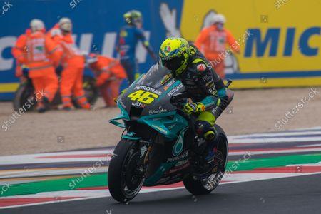 Editorial picture of MotoGP Motorcycle Racing, Gran Premio Nolan del Made in Italy, Qualifying, Misano, Italy - 23 Oct 2021