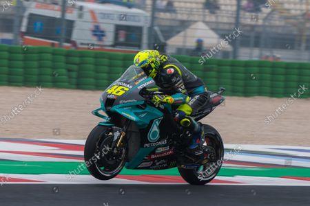Editorial image of MotoGP Motorcycle Racing, Gran Premio Nolan del Made in Italy, Qualifying, Misano, Italy - 23 Oct 2021