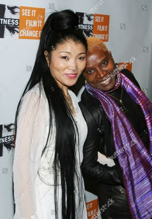 Stock Photo of Yungchen Lhamo, Angelique Kidjo