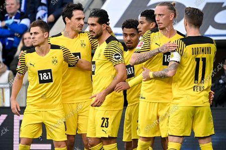 Editorial image of Arminia Bielefeld vs Borussia Dortmund, Germany - 23 Oct 2021