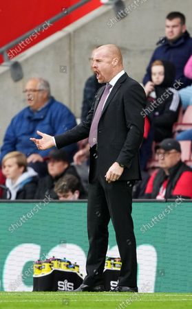 Manager Sean Dyche of Burnley.