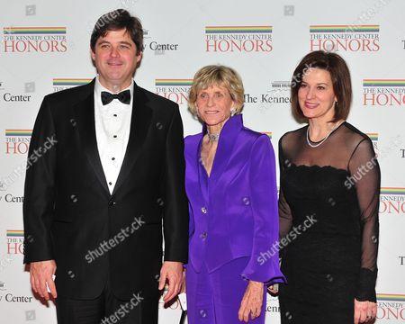 William Kennedy Smith, Jean Kennedy Smith and Victoria Reggie Kennedy