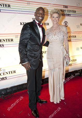 Tyrese Gibson and Elaine Wynn