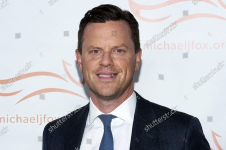 """Stock Picture of Willie Geist attends """"A Funny Thing Happened on the Way to Cure Parkinson's"""" gala benefiting The Michael J. Fox Foundation for Parkinson's Research at Jazz at Lincoln Center Frederick P. Rose Hall, in New York"""