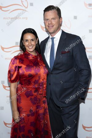 Editorial picture of 2021 Michael J. Fox Foundation Gala, New York, United States - 23 Oct 2021