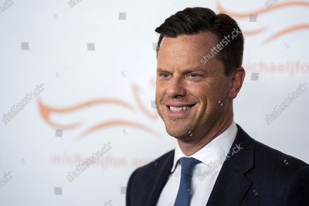 """Willie Geist attends """"A Funny Thing Happened on the Way to Cure Parkinson's"""" gala benefiting The Michael J. Fox Foundation for Parkinson's Research at Jazz at Lincoln Center Frederick P. Rose Hall, in New York"""