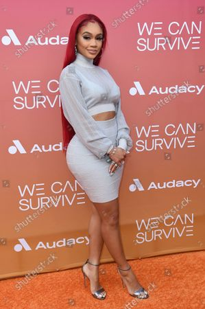 Editorial photo of Eighth Annual 'We Can Survive' Concert, Los Angeles, United States - 23 Oct 2021