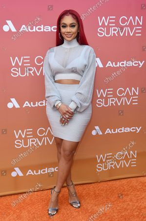 Editorial picture of Eighth Annual 'We Can Survive' Concert, Los Angeles, United States - 23 Oct 2021