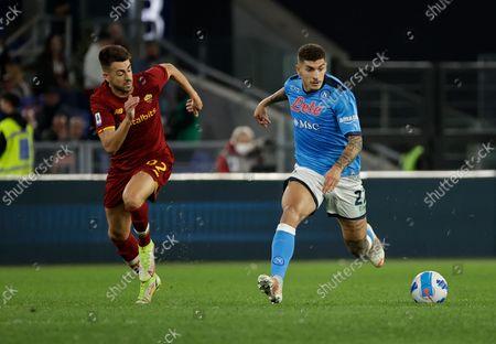 Editorial picture of Roma v Napoli, Italian Serie A football match, Stadio Olimpico, Rome, Italy - 24 Oct 2021