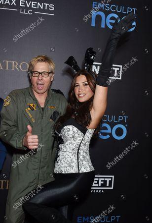 Stock Image of Kato Kaelin and Rachel Sterling