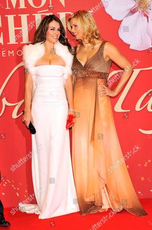 Stock Image of Elizabeth Hurley and Veronika Ferres