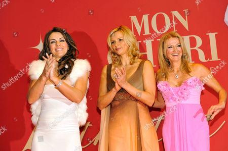Stock Photo of Elizabeth Hurley, Veronika Ferres and Frauke Ludowig