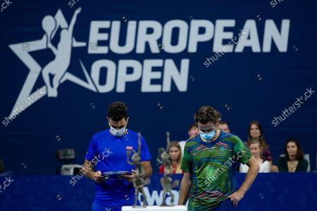 Editorial picture of Antwerp Tennis European Open Doubles Final, Antwerp, Belgium - 24 Oct 2021